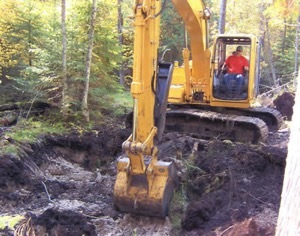 Land Clearing by Darrow Bros Excavating