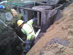 Sewer Services by Darrow Bros Excavating